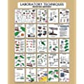"Denoyer-Geppert Laboratory Techniques Poster, 36"" x 44"""