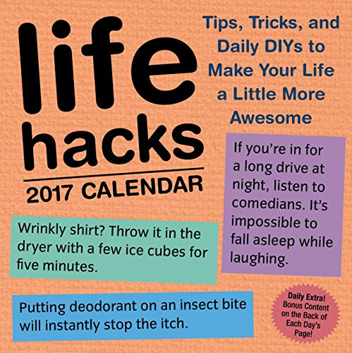 Life Hacks 2017 Day-to-Day Calendar
