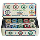 The Greenbacks - Brand New Poker Chip Set!!! 200 Full Color Chips, 2 Decks Custom Playing Cards