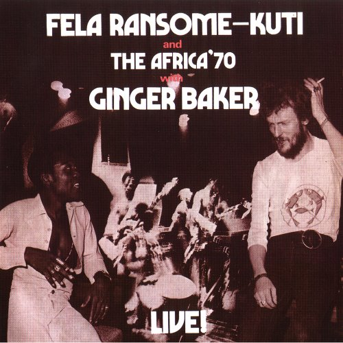 Live With Ginger Baker by Fela Kuti