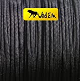 American 550 Paracord BLACK HAWK 4mm 30m