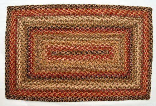 Kingston Eco Friendly 5'x8' Jute Braided Rectangular Rug From Green World