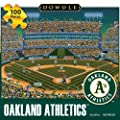 Jigsaw Puzzle - Oakland Athletics 100 Pc By Dowdle Folk Art