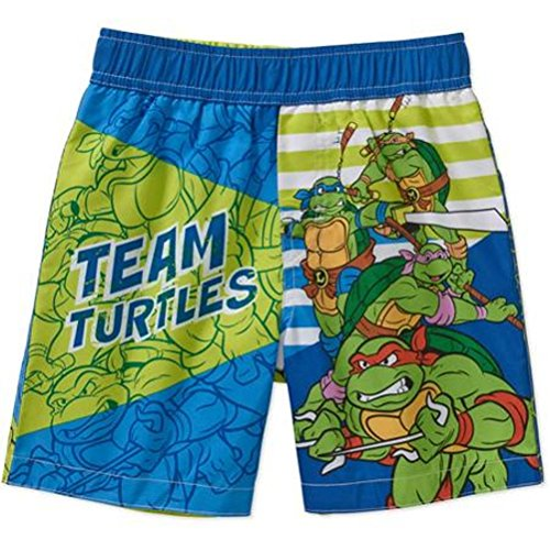 Teenage Mutant Ninja Turtles Swimsuit Swim Trunk Toddler Boy 5T