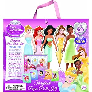 Disney Princess Paper Doll Kit Editors of Publications International Ltd.