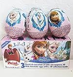 -in USA- 1 box of Disney Frozen surprise eggs - 3 in a box -