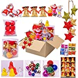 Sunsumo Christmas Tree Decorations -Pack of 11 varieties - All In One Offer Pack