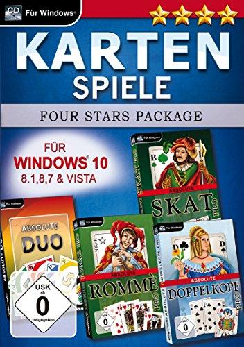 Kartenspiele-Four-Stars-fr-Windows-10-PC-Importacin-alemana