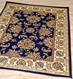 ORC Rugs 1709 1.5 x 0.8 m Classique Rugs, Navy