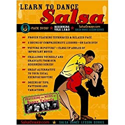 SalsaCrazy Presents: Learn to Salsa Dance, Beginners 3 Pack: The Complete Beginners Salsa Dancing Guide