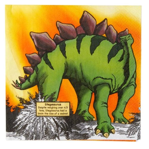 Party Destination - Dinosaurs Napkins