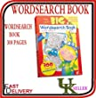 WORDSEARCH BOOK-300 PAGES/A4-CHILDREN KIDS WORD SEARCH BOOK-GIANT BIG PUZZLES
