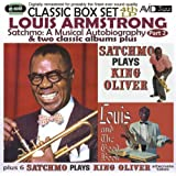 Satchmo: A Musical Autobiography - Part 2 (4th LP) & Two Classic Albums Plus (Satchmo Plays King Oliver / Louis And The Good Book)