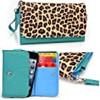 Women's Zip Wallet with Strap for Nokia Asha 201