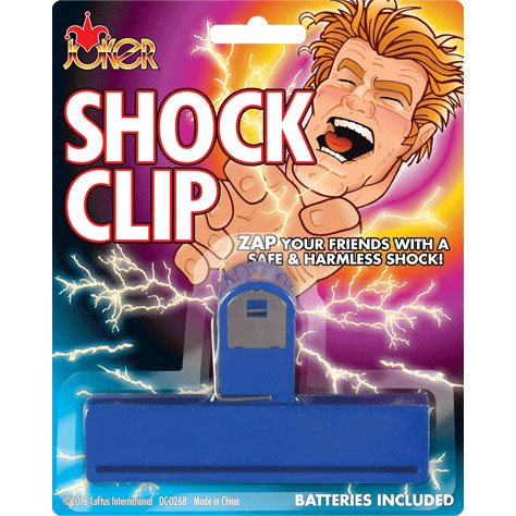 Shock Clip Shocking and Exploding Prank (1 per package)