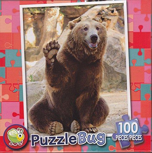 Puzzlebug 100 Piece Puzzle ~ High Five - 1