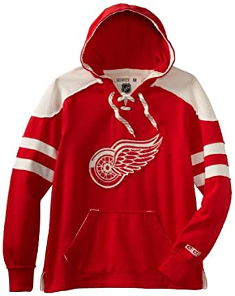 NHL Detroit Red Wings CCM Pullover Hoodie, XX-Large