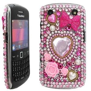 Juju Village Blackberry Curve 9220 9320 Heart Bling
