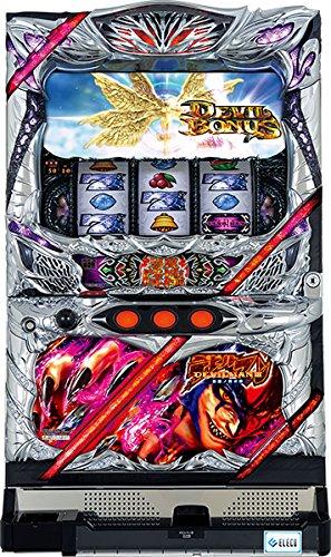 【中古】パチスロ実機 エレコ デビルマン3-悪魔ノ黙示録-【DM】 【スロット標準セット】コインがあればすぐに遊べる