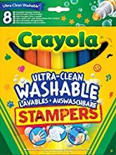 Comprar Crayola - Set de 8 mini estampadores ultra lavables (58-8129)