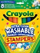 Crayola - 58-8129-e-000 - Feutres - 8 Mini Stampers Emoticone - Ultra Lavable