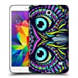 Head Case Designs Owl Aztec Animal Faces Hard Back Case for Samsung Galaxy Tab 4 7.0