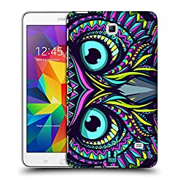 Head Case Designs Owl Aztec Animal Faces Hard Back Case for Samsung Galaxy Tab 4 7.0