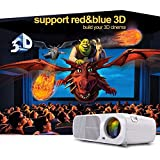 7000 Lumens Full HD 1080P LED LCD VGA HDMI TV Home Theater Projector Cinema MY