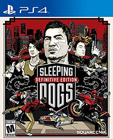 Sleeping Dogs Definitive Edition (Digital Code) - PS4 [Digital Code]
