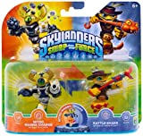 Skylanders Swap Force – Double Pack 2 – Rattle Shake, Nitro Magna Charge [Importación Alemana]