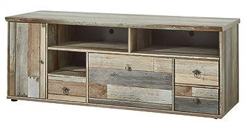 TV-Unterteil 18308 Lowboard TV-Möbel Fernsehmöbel Driftwood Nachbildung