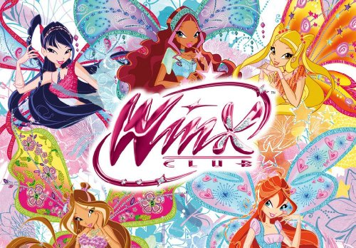 1/4 Sheet ~ Winx Club Fairies Group Birthday ~ Edible Image Cake/Cupcake Topper!!!