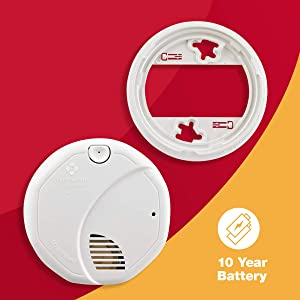 First Alert Dual Sensor Smoke and Fire Alarm, SA3210 (Tamaño: 1 pack)