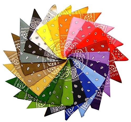 robelli-lot-de-12-bandanas-100-coton-motif-cachemire-12-couleurs