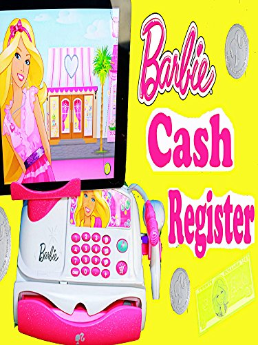Barbie CASH REGISTER App-rific 51 Piece Barbie Checkout Toy Unboxing & TOY SHOPPING HAUL Frozen