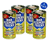 Bar Keepers Friend Cleanser and Polish (12 Oz. Each, 4 Pack)