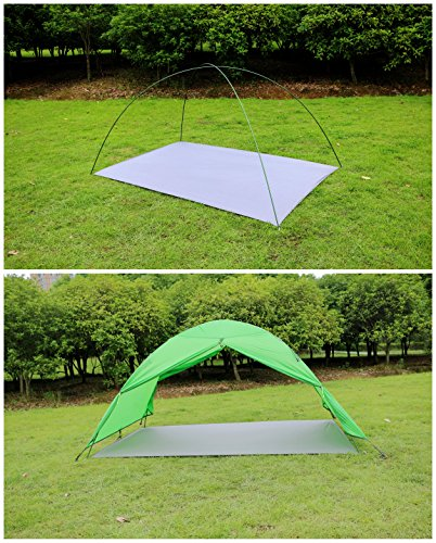GEERTOP-1-3-person-Ultralight-Waterproof-Tent-Tarp- & GEERTOP 1-3 person Ultralight Waterproof Tent Tarp Footprint ...