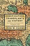 Codification, Transplants and History...