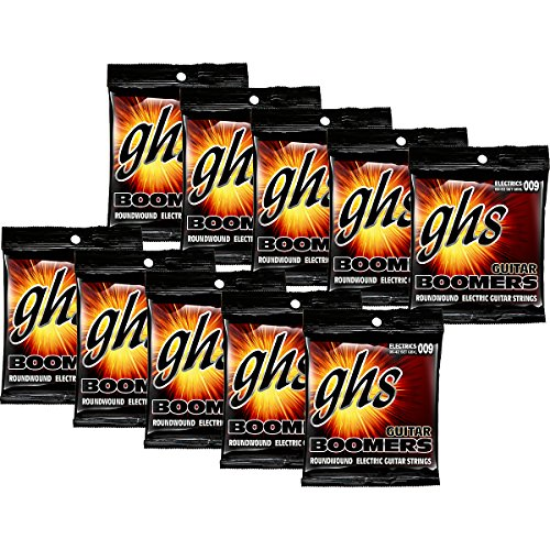 GHS Boomers Extra Light Electric Guitar Strings