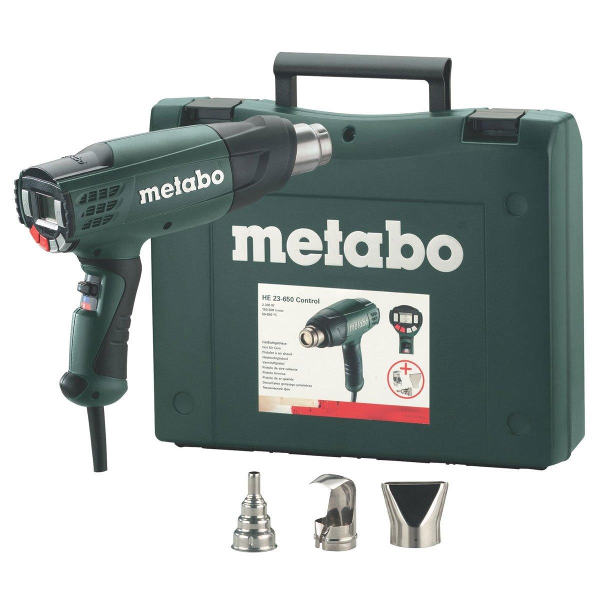 Metabo 602365500 Heißluftgebläse HE 23650 Control  BaumarktKundenbewertung und Beschreibung