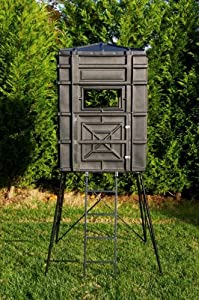 Hughes 4x4 Hunting Blind Hideout Box Thick Wall Panels Half Door Model 67000 by Hughes