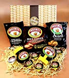 Marmite Lovers Treasure Hamper Gift Box - Cashews, Marmite Jar, Squeezey Rice Cakes, Crisps and Sachets - Great for Birthday Gift, Thank you gift, Mother's and Father's Day - By Moreton Gifts