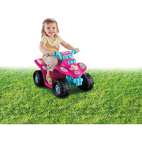 Fisher-Price Power Wheels Barbie Princess Lil' Quad 6-Volt Battery-Powered Ride-On (Fisher Price 6volt Battery compare prices)