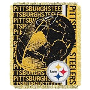 Pittsburgh Steelers Woven Jacquard Throw Blanket