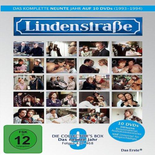 Die Lindenstraße - Das neunte Jahr (Folge 417-468) (Collector's Box) [Limited Special Edition] [10 DVDs]