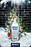 Tin Plate Sign Metal Poster of Absolut Vodka Absolut Holidays 20*30cm