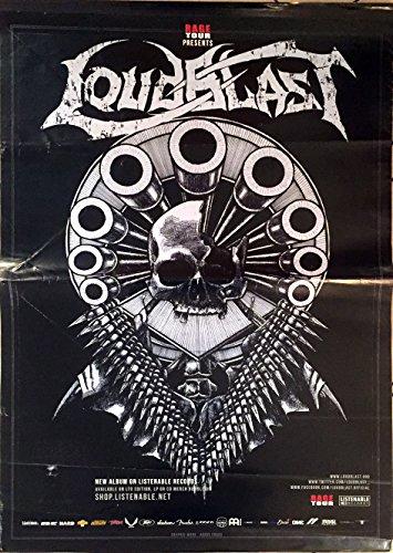 Loudblast, 70 x 100 cm-Poster locandina