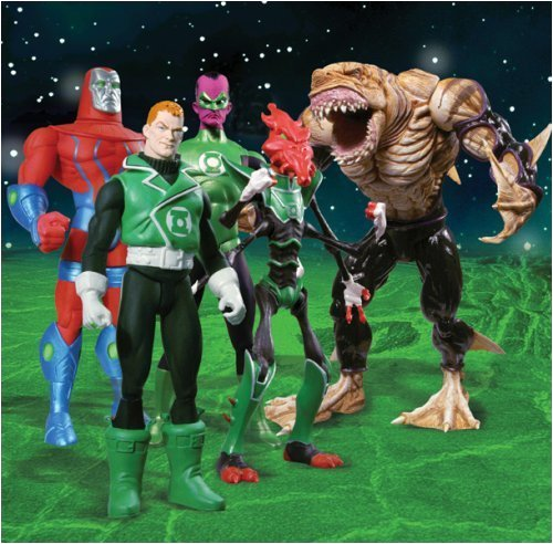 Picture of DC Direct Green Lantern 2: Action Figures Case of 10 (2 Sets) (B000UB2BKG) (Green Lantern Action Figures)