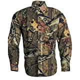 SCENT SHIELD Men's Recon Rip Stop Shirt, Mossy Oak Break-Up Infinity, Medium