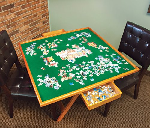folding wooden jigsaw puzzle table 1
